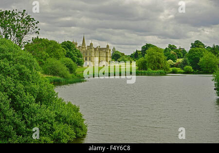 Burghley House 16th-century country house near to Stamford, Lincolnshire, - Stock Photo
