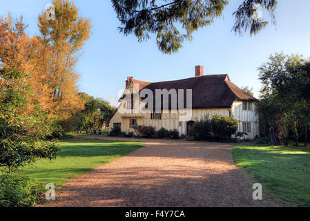 Flatford, Suffolk, England, UK - Stock Photo