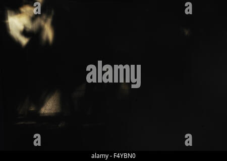 halloween shadows dark darkness scary black images depression angel spiritual - Stock Photo