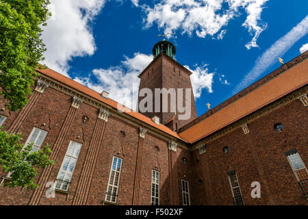Stockholm City Hall collection, Stockholm, Sweden - Stock Photo