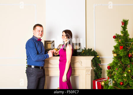 Will You Marry Me Handsome Young Man Making A Proposal While Giving