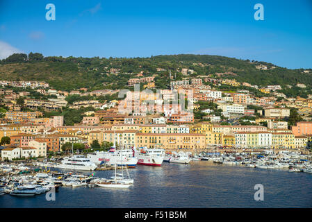 Porto Santo Stefano, Monte argentario, Province of Grosseto, Tuscany, Italy, EU, Europe. - Stock Photo