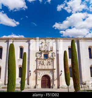 Burgos Cardenal Lopez Mendoza building in Castilla Leon at Spain - Stock Photo