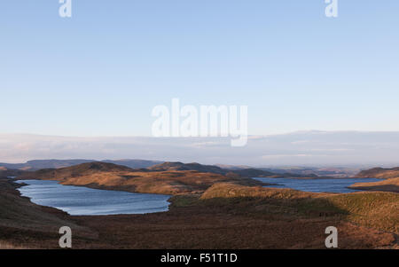 Teifi pools on the Cambrian mountains in Wales, UK - Stock Photo