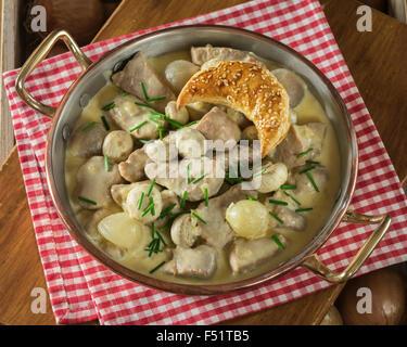 Blanquette de veau veal stew with white sauce france stock photo royalty free image 28659639 - Cuisine blanquette de veau a l ancienne ...