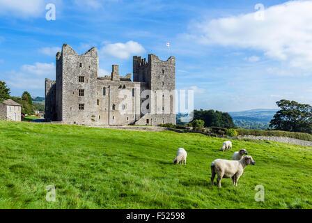 Bolton Castle, Castle Bolton, Wensleydale, Yorkshire Dales, North Yorkshire, England, UK - Stock Photo