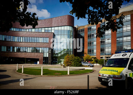 The Christie NHS Foundation Trust is located in Withington, Manchester, and is one of the largest cancer treatment - Stock Photo