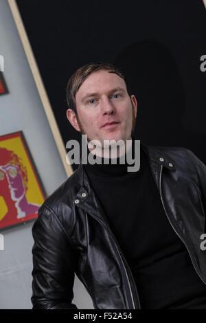 Kascarade Luke Milnes, band member in the studio - Stock Photo