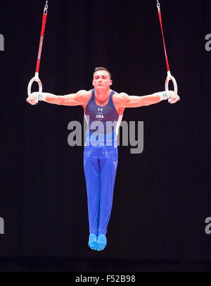 Glasgow, Scotland. 26th Oct, 2015. FIG Artistic Gymnastics World Championships. Day Four. Credit:  Action Plus Sports/Alamy - Stock Photo