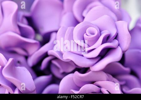 Plastic Rose Flower - Stock Photo