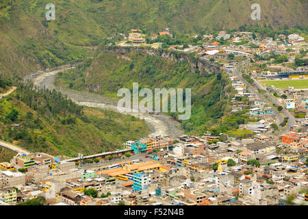 Banos Canton Is A Canton Of Ecuador Located In The Tungurahua Province It Is Also A Place With Many Touristic Attractions - Stock Photo