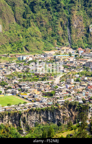 Banos De Agua Santa Is A Canton Of Ecuador Located In The Tungurahua Province It Is Also A Place With Many Touristic - Stock Photo