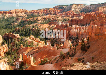 View from near Sunrise Point, Bryce Canyon, Utah, USA - Stock Photo