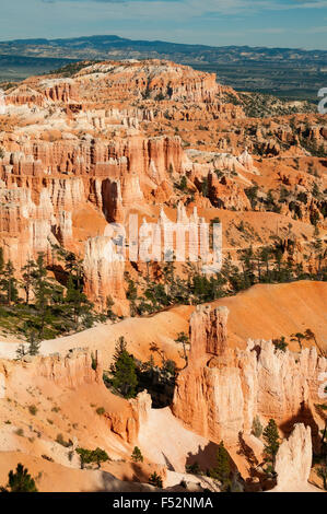 View from near Sunset Point, Bryce Canyon, Utah, USA - Stock Photo