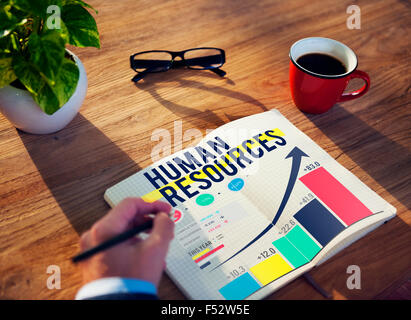 Human Resources Hiring Job Accupation Concept - Stock Photo