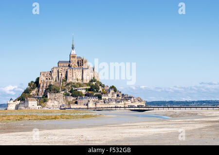 Le Mont Saint Michel, France, Normandy 2015 - Stock Photo