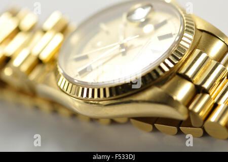 Gold Watch - Stock Photo