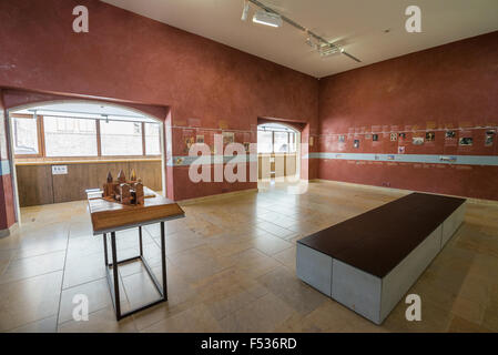 Interior of the museum in Cluny, France, Europe. - Stock Photo