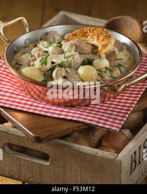 Blanquette de veau veal stew with white sauce france stock photo royalty free image 28659641 - Cuisine blanquette de veau a l ancienne ...