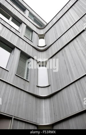 27.04.2015, Berlin, Berlin, Germany - Freie UniversitŠt (FU) Berlin presents the new building for small pockets - Stock Photo