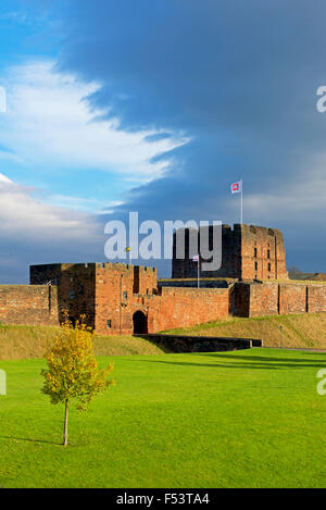 Carlisle Castle, Cumbria, England UK - Stock Photo