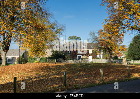 Houses With Leaves In Sunlight Stock Photo Royalty Free