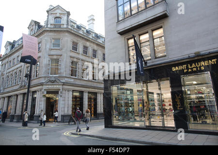 5328d6317b6 ... Saint Laurent, Old Bond Street, Mayfair, London, England, UK - Stock