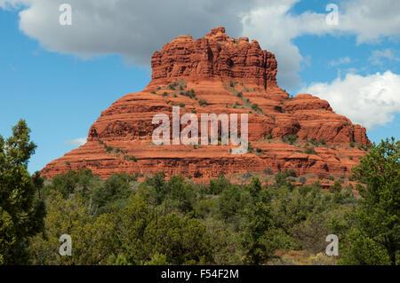 Bell Rock, Sedona, Arizona, USA - Stock Photo