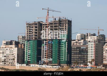 Building under construction Beirut Lebanon - Stock Photo
