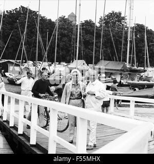 Anker auf und Leinen los!, Fernsehserie, Deutschland 1968, Regie: Hermann Kugelstadt, Szenenfoto - Stock Photo