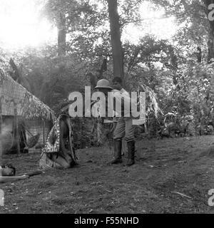 Kampf um Kautschuk, Fernsehfilm, Deutschland 1967, Regie: Falk Harnack, Szenenfoto - Stock Photo
