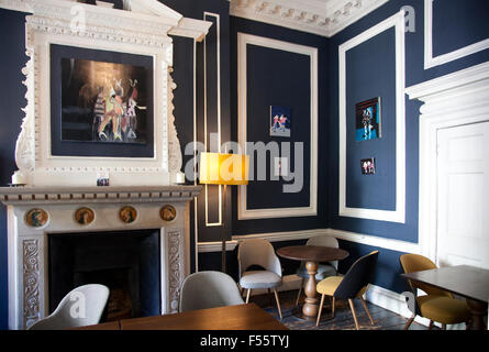 House of St Barnabas Room Soho London Stock Photo Royalty Free