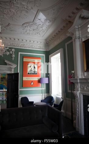 House of St Barnabas Room Soho London Stock Photo Royalty Free