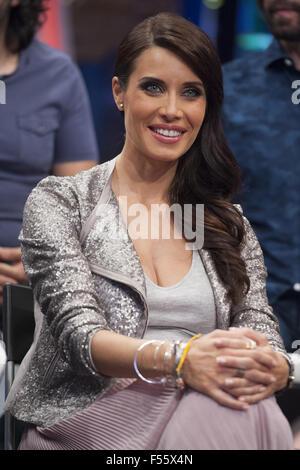 Pilar Rubio attends the presentation of Entretenimiento TV program 'The Ant'  Featuring: Pilar Rubio Where: Madrid, - Stock Photo
