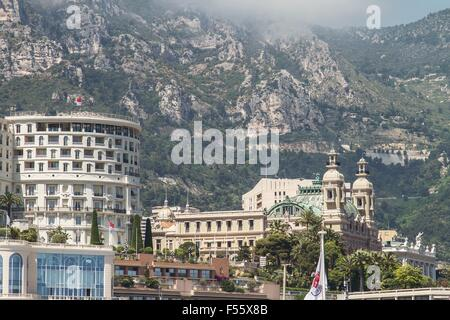 Grand Casino in Monte Carlo, Monaco - Stock Photo