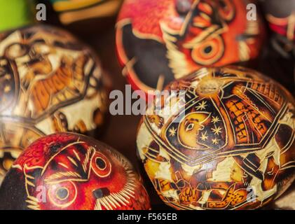 Souvenir from Uros island, Peru, Bolivia - Stock Photo