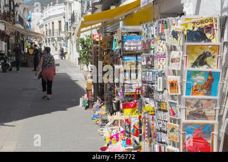 Nerja, Costa del Sol. Malaga province. Andalusia. Spain - Stock Photo