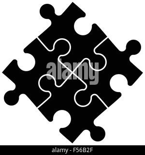 Puzzle constructor - Stock Photo