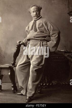 Actor Alexandre Dumas Fils de l'Academie Francaise - Stock Photo