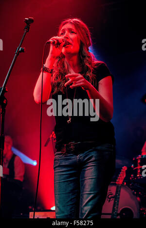 Electric Ballroom, Camden, London, UK 29th October 2015 Jacqui Abbott performing on stage at Electric Ballroom, - Stock Photo