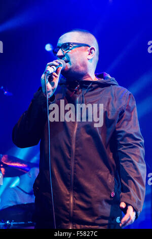 Electric Ballroom, Camden, London, UK 29th October 2015 Paul Heaton performing on stage at Electric Ballroom, London - Stock Photo