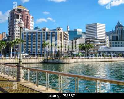 Port Louis Waterfront - Stock Photo