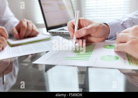 business monitoring - Stock Photo