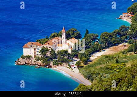 Croatia, Dalmatia, Brac island, Bol - Stock Photo