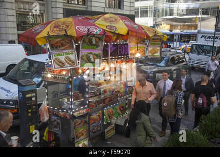 Bryant Park Food Trucks