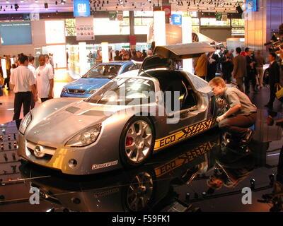 Paris France Paris Car Show German Mercedes Benz Classe B Stock
