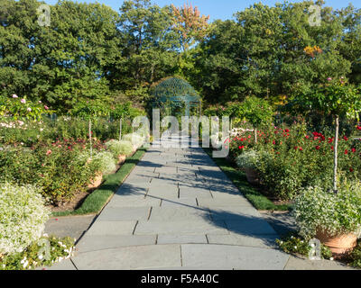 The Peggy Rockefeller Rose Garden at the New York Botanical Garden ...
