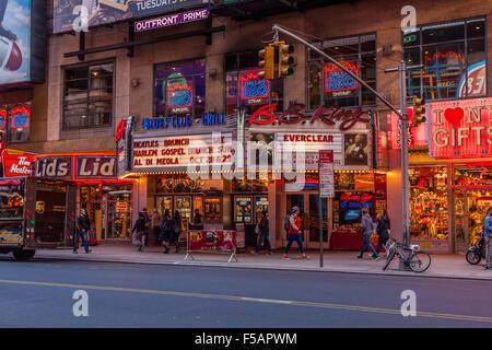 B.B. King Blues Club & Grill Times Square, New York City, United States of America. - Stock Photo