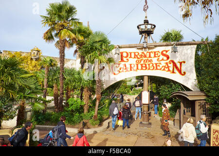 pirates of the caribbean ride in adventureland disneyland paris stock photo 89376275 alamy. Black Bedroom Furniture Sets. Home Design Ideas