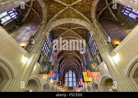 West Point, New York - September 26, 2015: West Point Cadet Chapel at the US Military Academy. The Cadet Chapel - Stock Photo